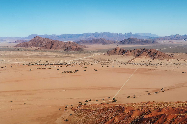 Namibija potovanje kampiranje Sesriem