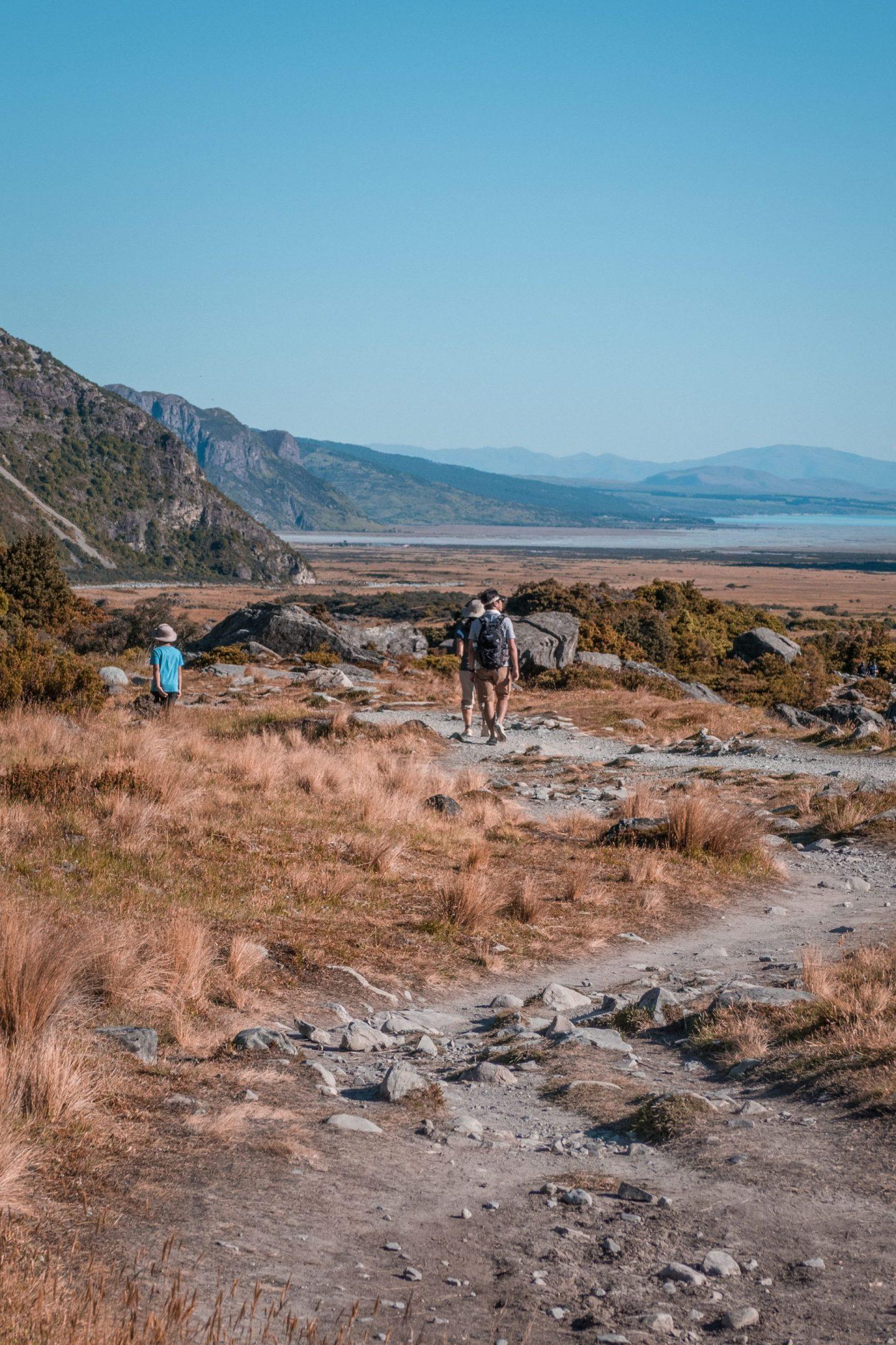 Nova Zelandija Mount Cook Hooker Valley Track
