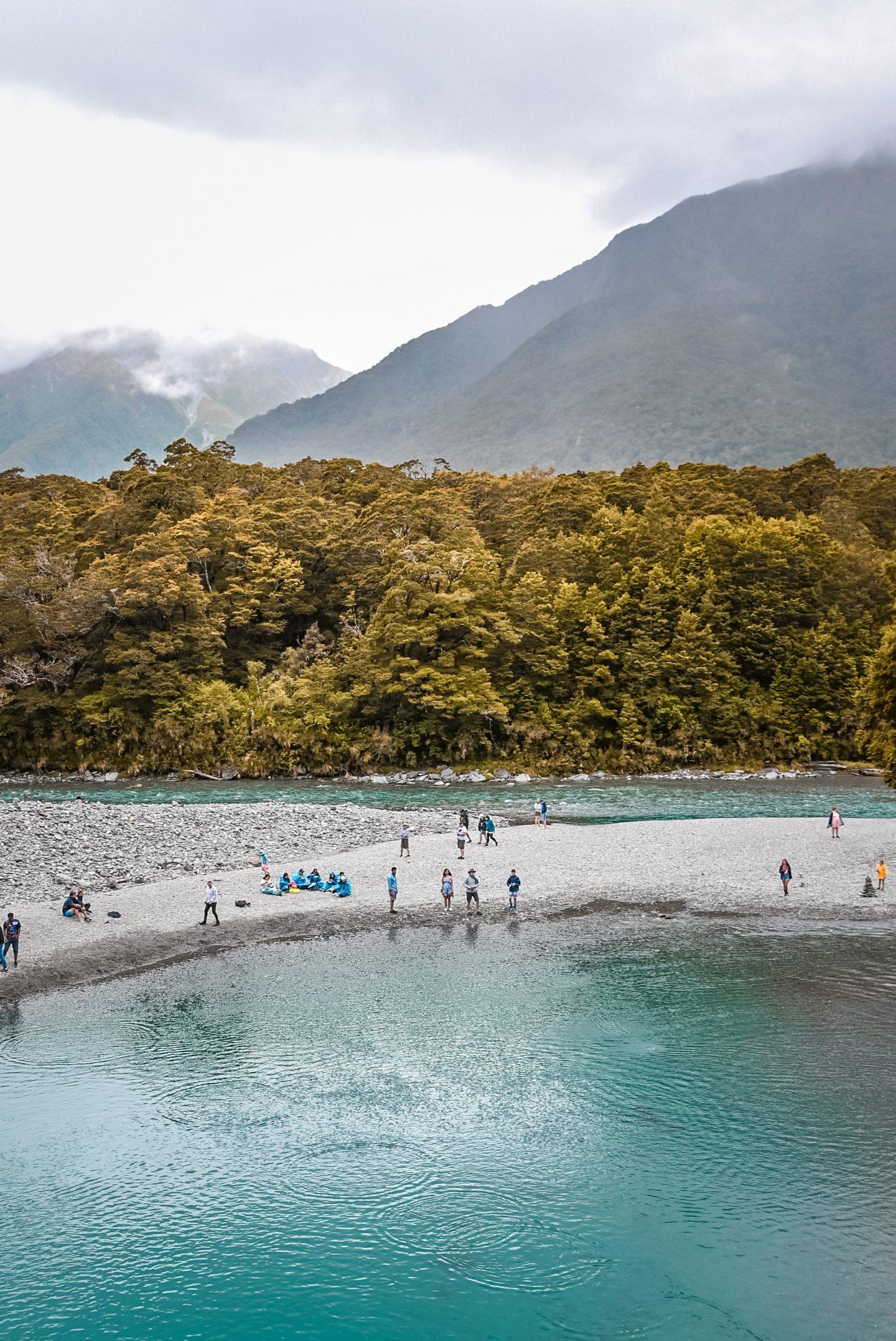 Nova Zelandija Blue Pools