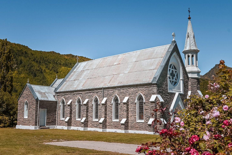 Arrowtown cerkev, Nova Zelandija
