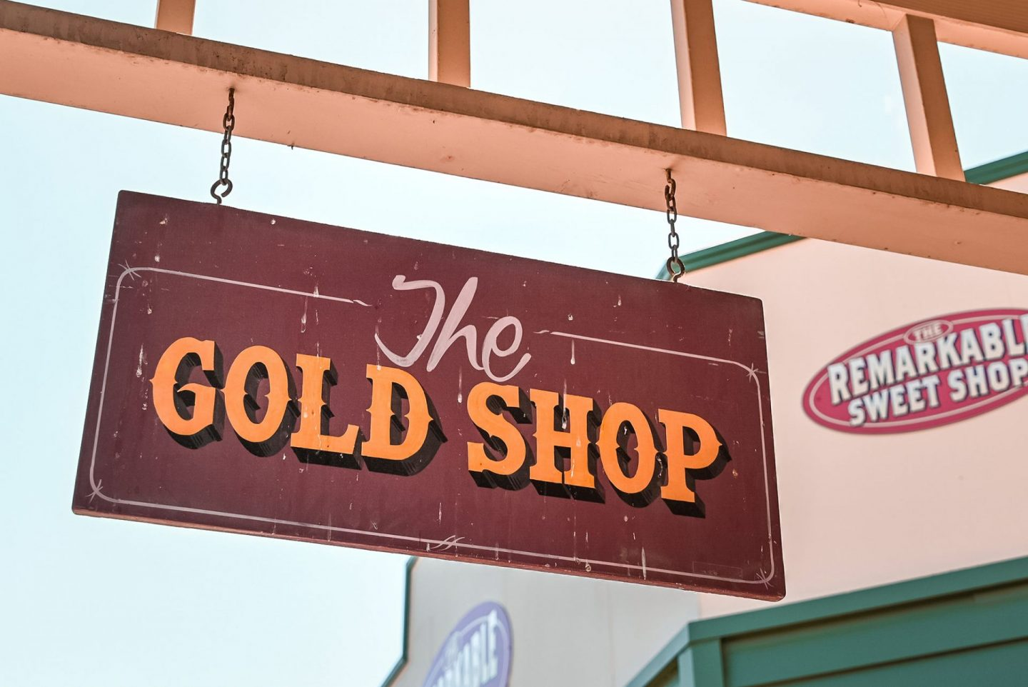 Arrowtown gold shop