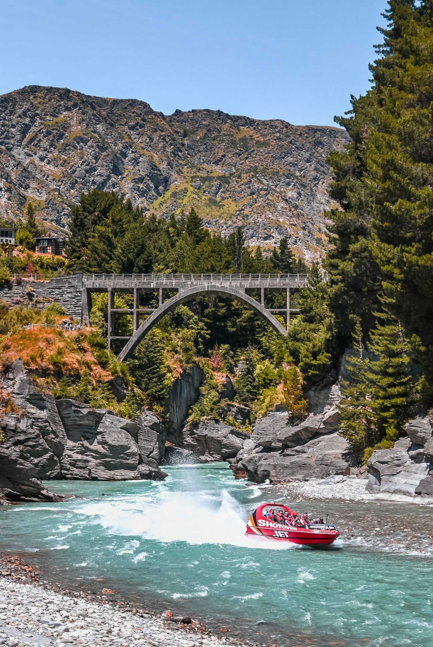 Shotover Jet, Queenstown, Nova Zelandija