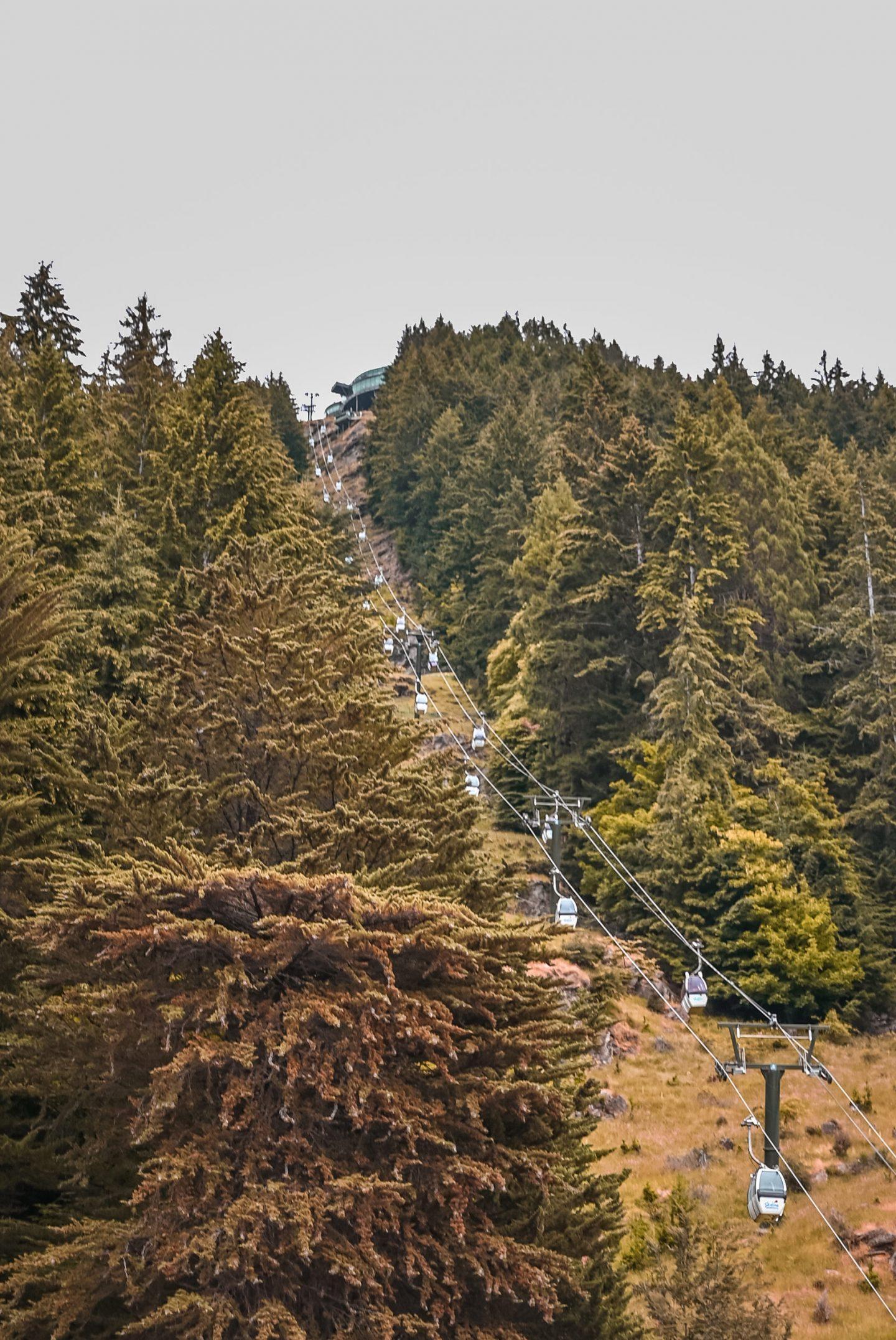 Skyline Gondola Queenstown Nova Zelandija