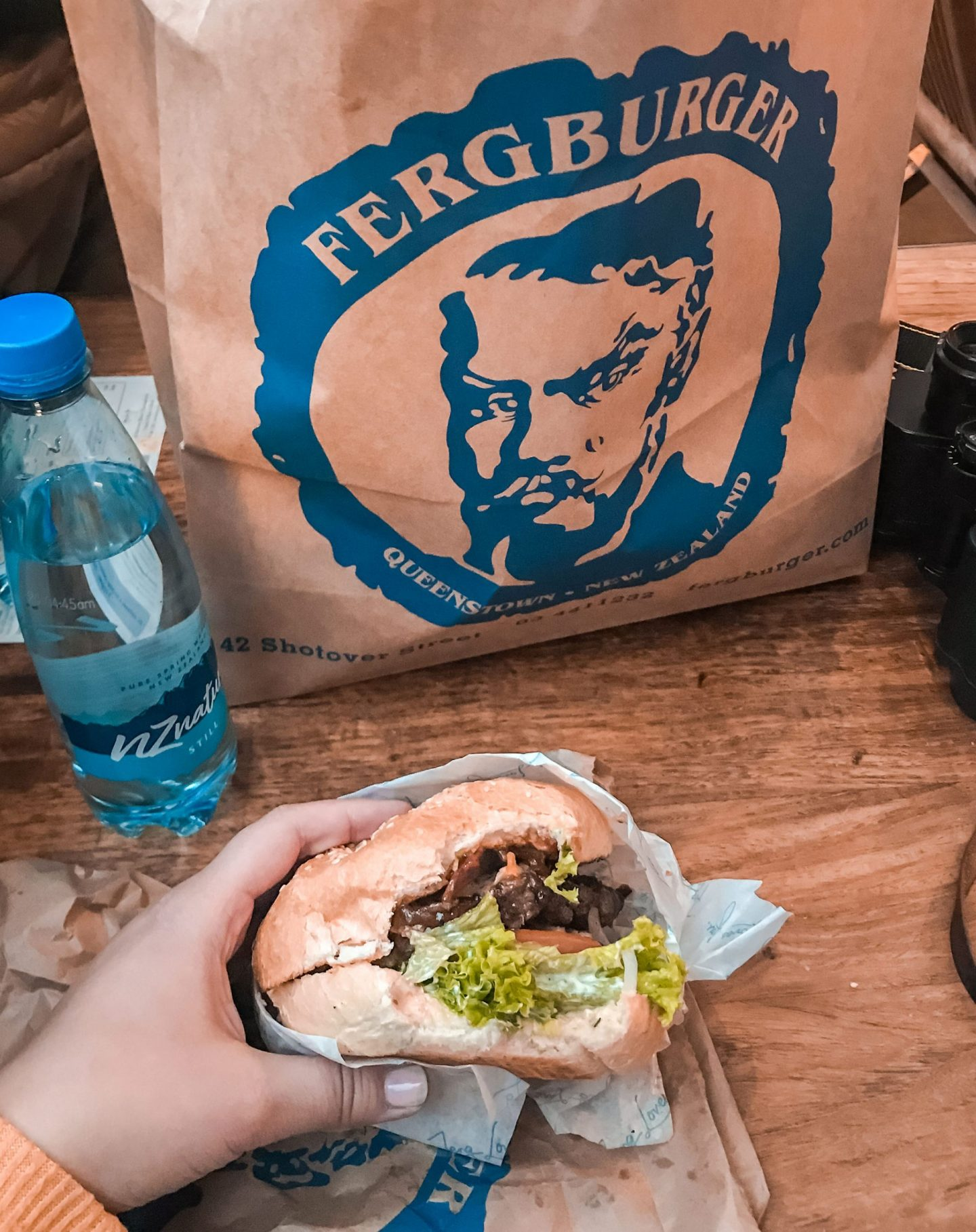 Fergburger Queenstown - the best burger in the world