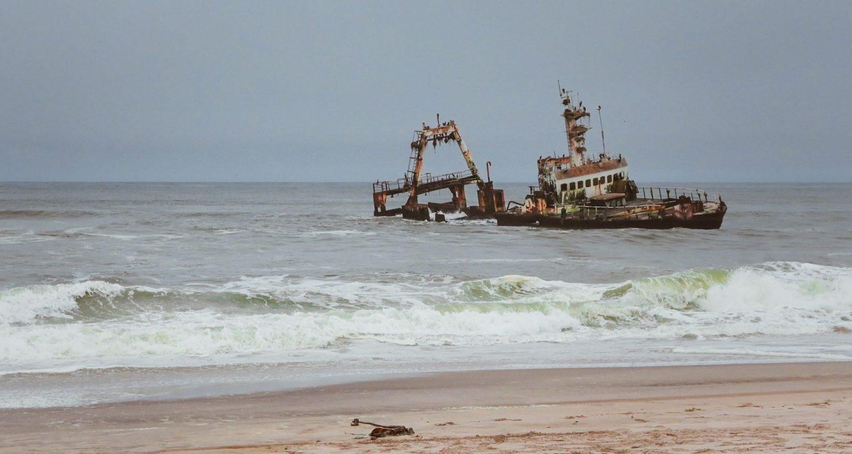 Namibia Skeleton Coast Zeila shipwreck