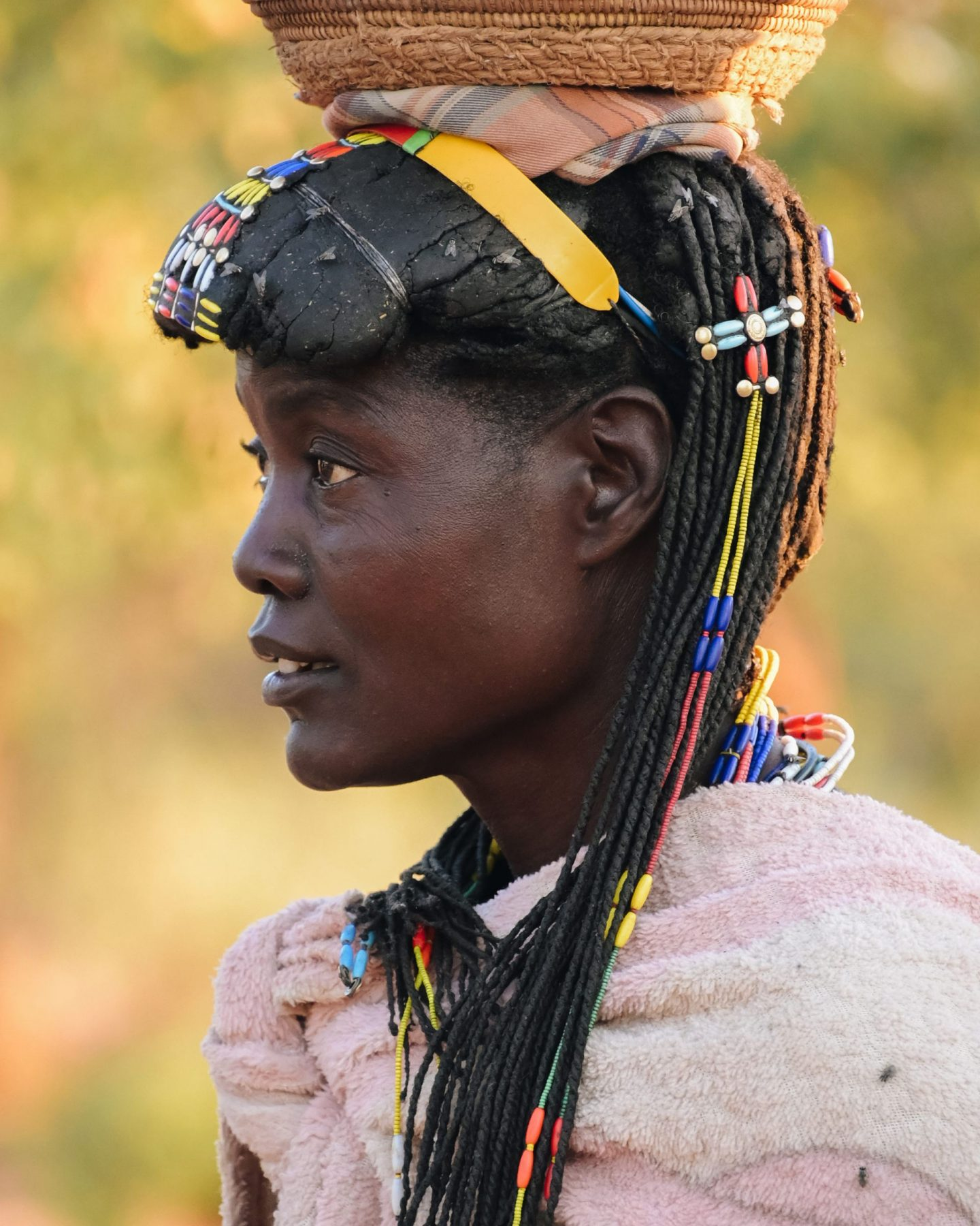 Zemba woman in Namibia