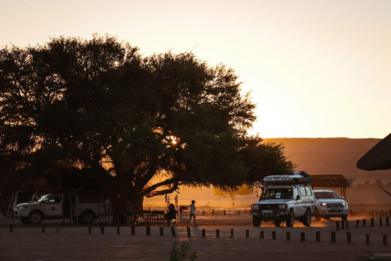 Sesriem kamp, Namibija