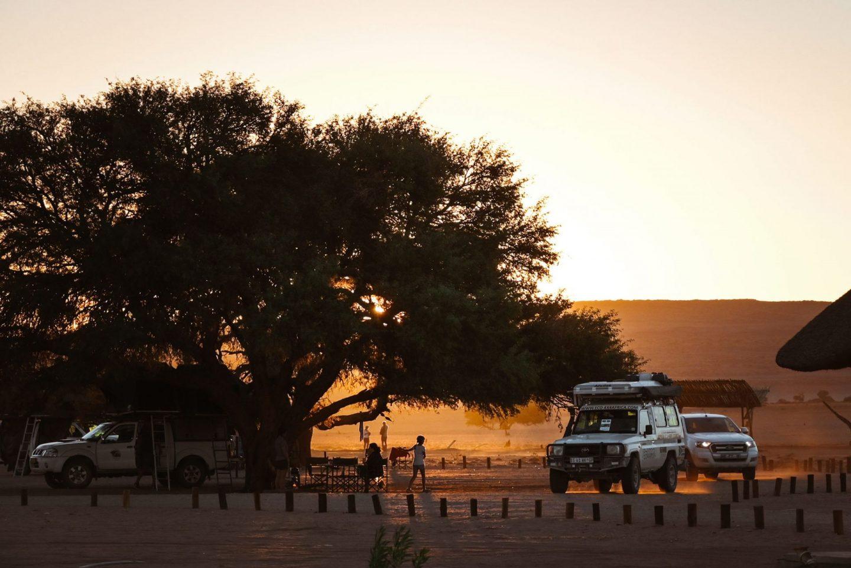 Namibia Sesriem Campsite