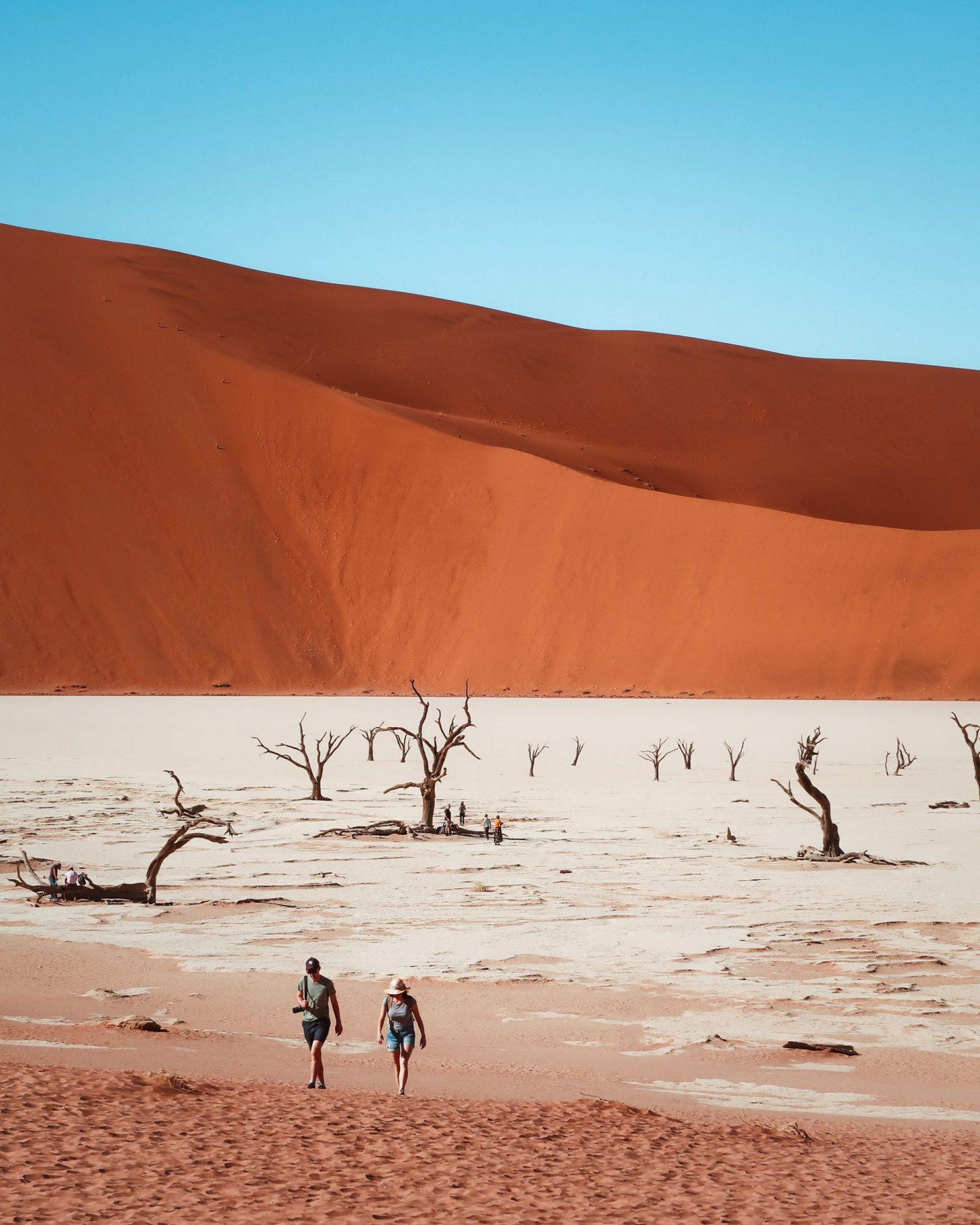 Deadvlei, Namibija