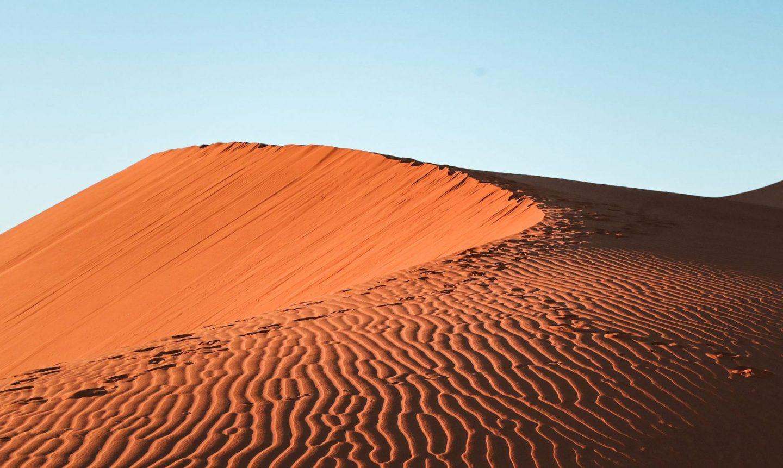 Sossusvlei sipine, Namibija