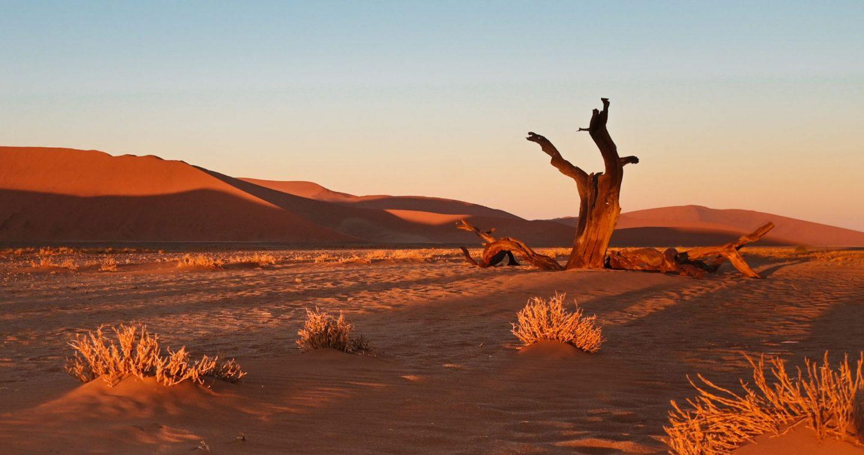 Sossusvlei, Namibija
