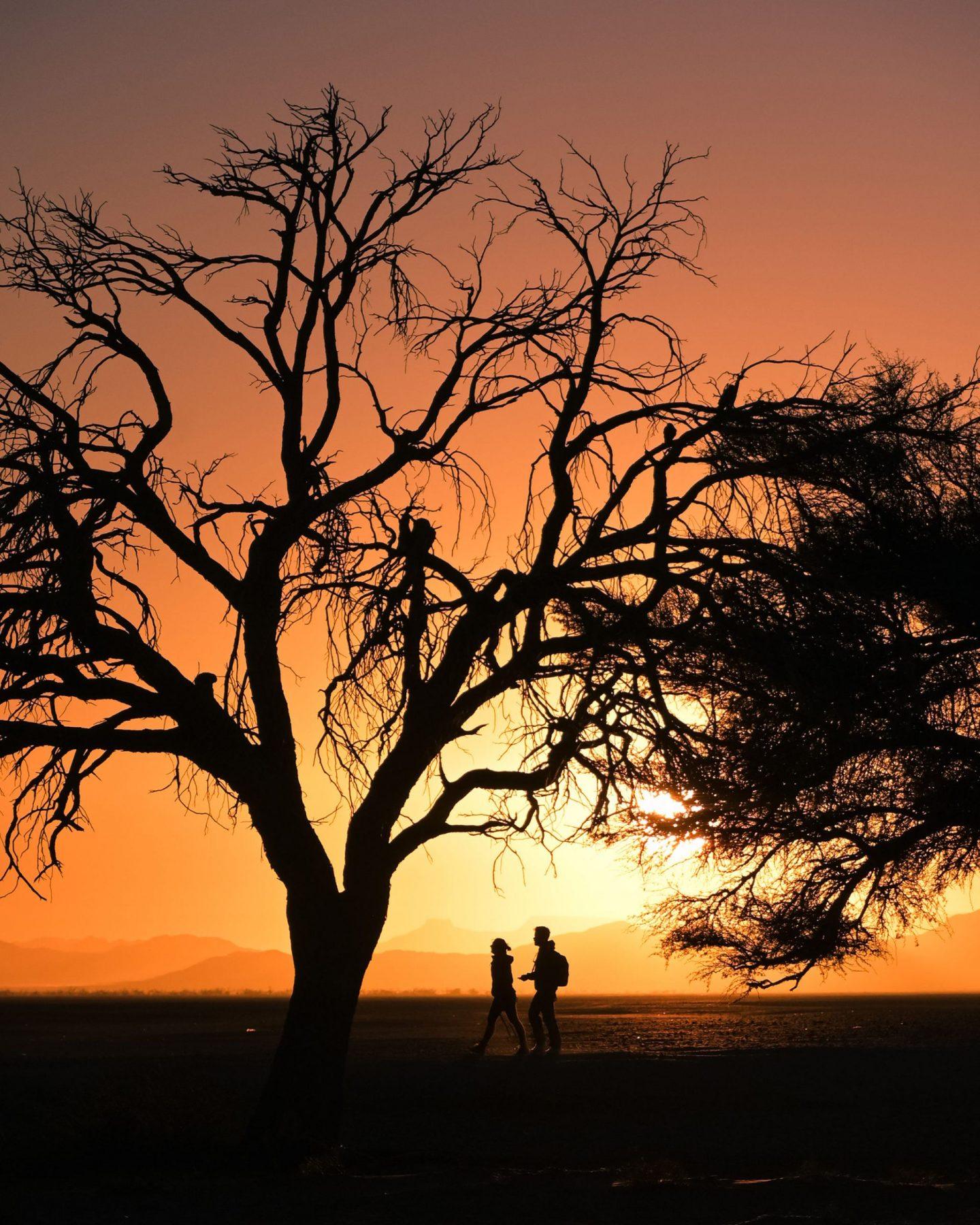 Sossusvlei sončni vzhod, Namibija