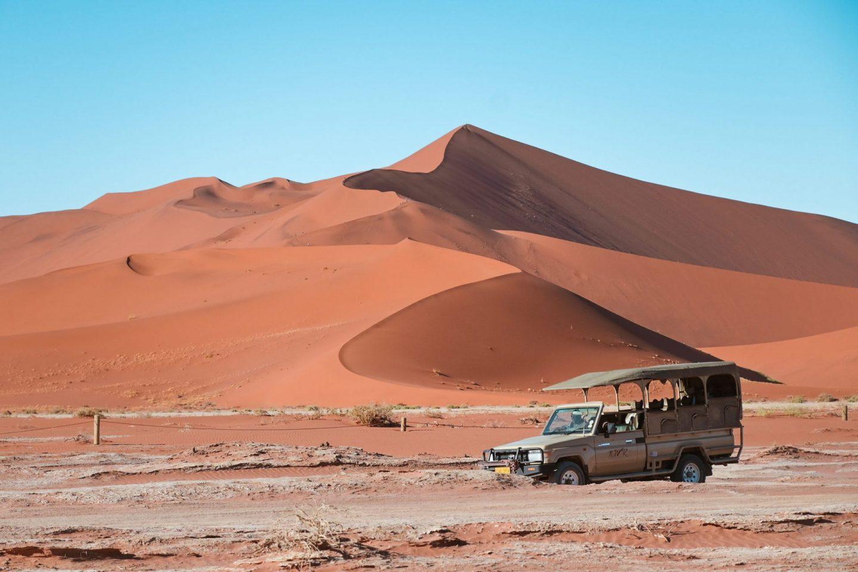 Namibia Sossusvlei driving