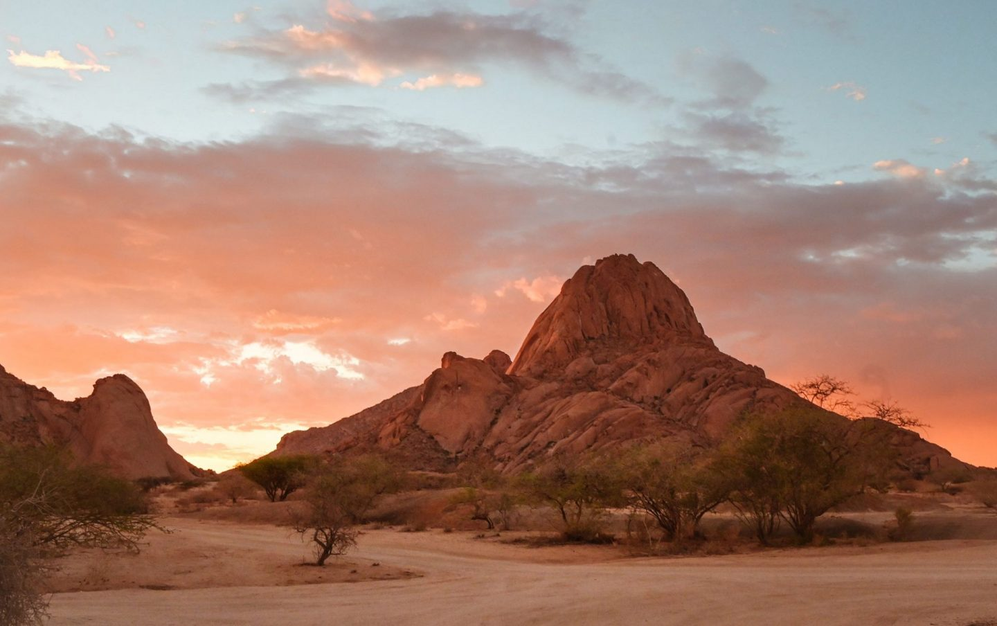 Sunset at Spitzkoppe, Namibia
