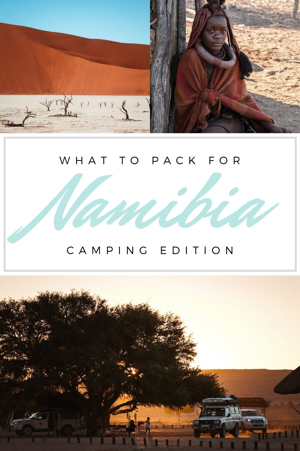 What to Pack for Namibia for Camping in the Desert