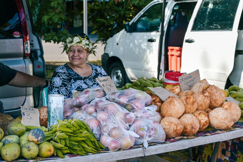 Punanga Nui Market, Rarotonga, Cook Islands