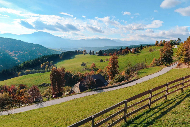 Strojna, Koroska, Slovenia
