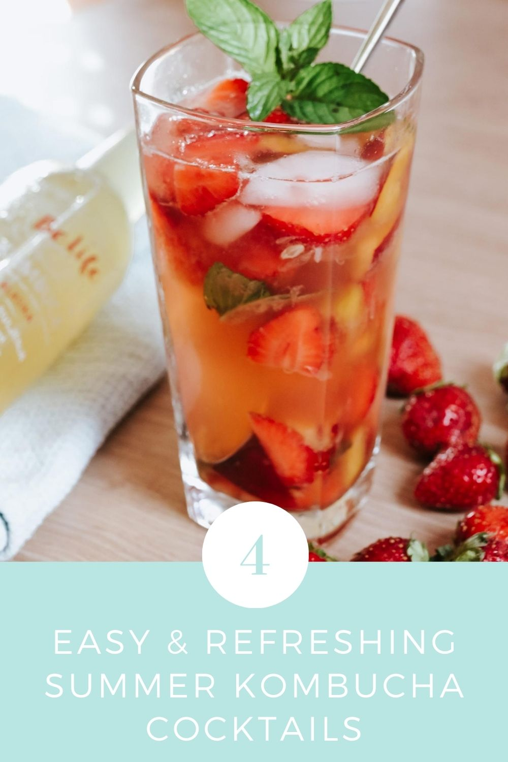 Easy and Refreshing Summer Kombucha Cocktails