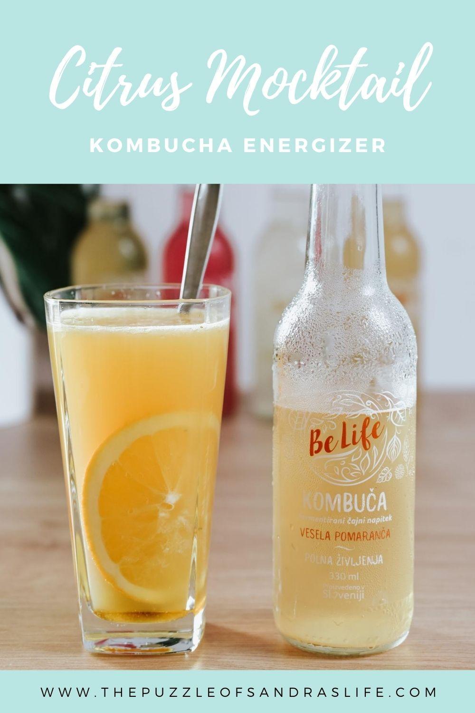 Citrus Mocktail Kombucha Energizer
